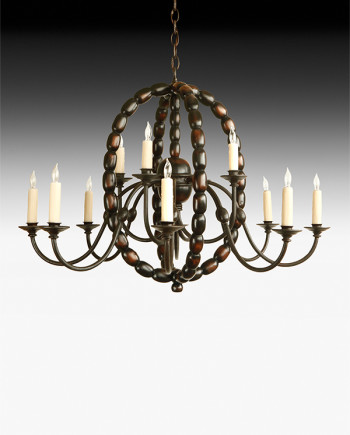 Aesthetic Decor 201 - Bobbin Chandelier