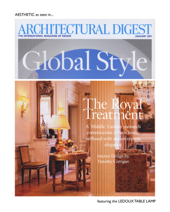 Architectural Digest January 2011