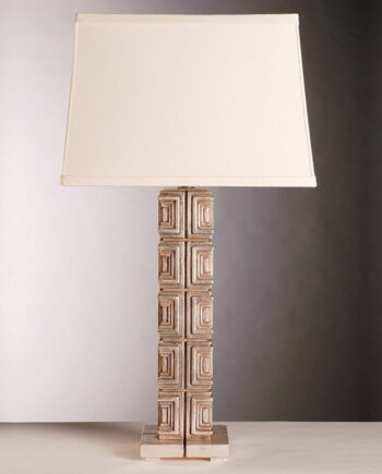 Aesthetic Deco - 120 - Textile Block Table Lamp