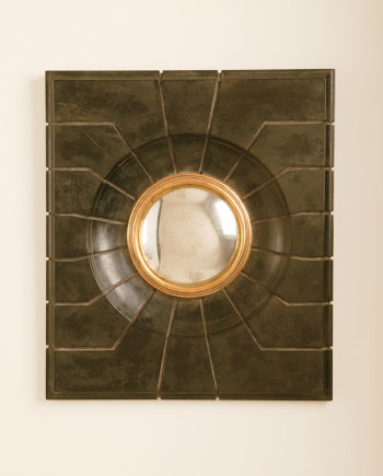 Aesthetic Decor 303 -Mannerist Mirror - honed black