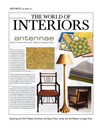 World of Interiors March 2008